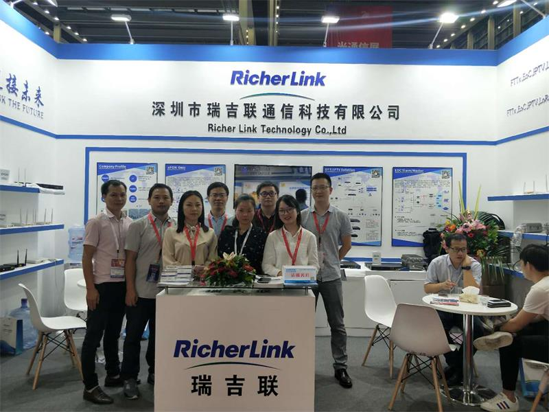 Great success of RicherLink's participation in the 20th CIOE